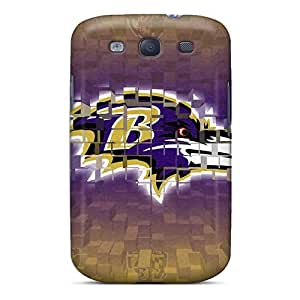 Fashionable Baltimore Ravens Style Cases Covers Skin For Galaxy S3