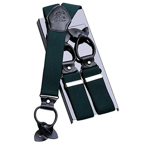 per regolabile Jean verde completo Camicia Ahatech Bretelle completamente Donna pantaloni Y Asola Man nerastra da Blu wq0xSB