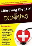 Lifesaving First Aid for Dummies: Critical Information at Your Fingertips! (Refrigerator Magnet Books for Dummies)