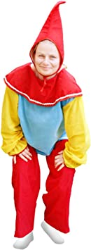 Enano. Disfraz de enano. Disfraz para niños. Fiestas. Carnaval ...