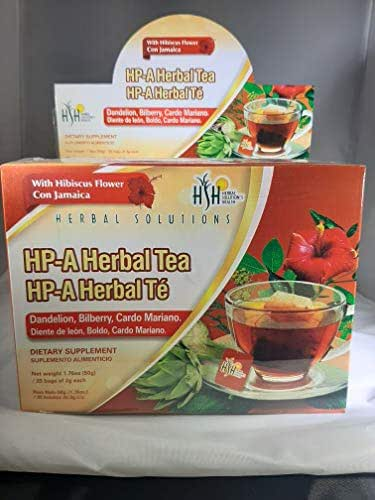 HP-A Herbal Tea (25 Bags of 2 g Each)