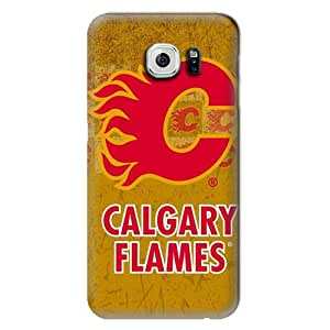 ArtPopTart S6 Edge Case,NHL-Calgary Flames Samsung Galaxy S6 Hard Case,Fashion Samsung Cell Accessories