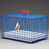 4X MDC Blue Plastic Coated Cat Carrier