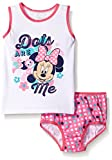 Disney Toddler Girls' Minnie Mouse Underwear and Tank Set, Assorted, 4T