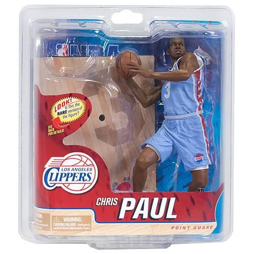 McFarlane Sportspicks: NBA Series 21 Chris Paul 2 - Clippers 6 inch CHASE VARIANT L.A. STARS JERSEY Action Figure