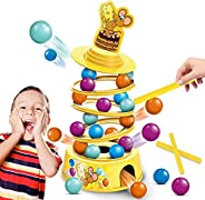 kidpal Stacking Board Game for Kids Ages 4-8, Family Games with Kids, Tabletop Game for Adults and Child, Tumb
