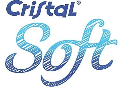 Bic Cristal Soft Punta Media 1,2 mm Confezione 50 Penne Colore Blu