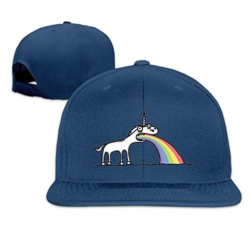 Custom Unisex Rainbow Unicorn Snapback Baseball Hats Caps - Allens Boots Austin