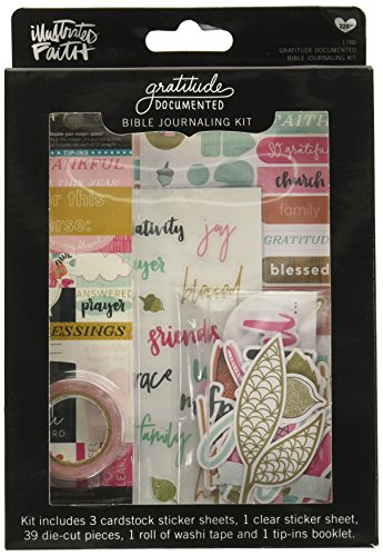 Dayspring Illustrated Faith - Gratitude Documented - Bible Journaling Kit