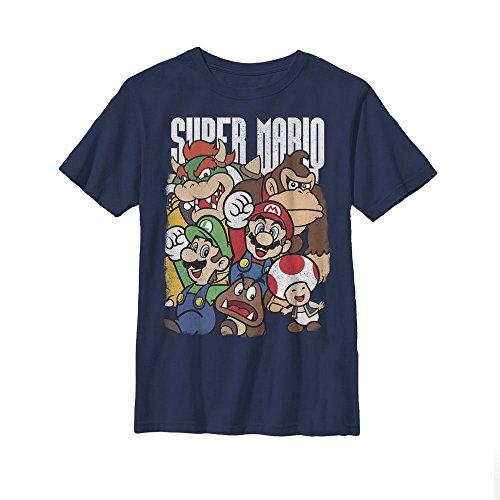 Nintendo Super Mario Party Boys Graphic T Shirt