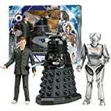 Underground Toys Doctor Who Doomsday Set 10th Doctor with Dalek & Cyberman Box Set Statue