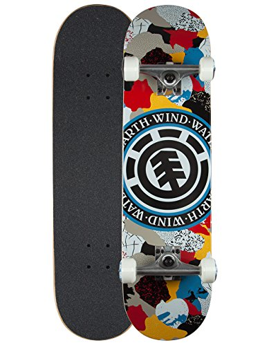 element-cut-out-seal-complete-skateboard-multi