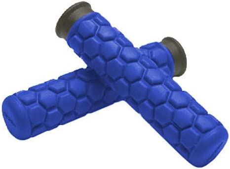 Spider Grips A3-BL Blue A3 Grips for ATV Watercraft and Snowmobiles
