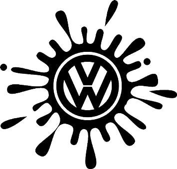 Pegatinas adhesivas de vinilo para coches Volkswagen: Amazon.es: Coche y moto