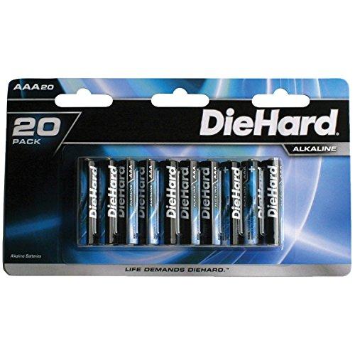 DieHard Long Lasting Alkaline Batteries AA/AAA/9 volt/C and D cell packs by DieHard
