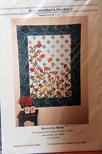 Grandmother's Garden Quilt Pattern - Finished Size 38