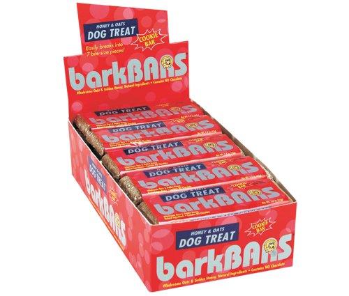 Bark Bars 25-Pack Counter Box Honey/Oats Cookie Bars ()