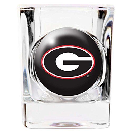 Memory Company Georgia Bulldogs Shot Glass - Square 2oz