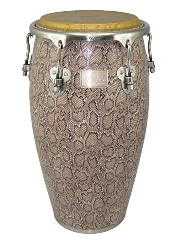 Tycoon Percussion MTCF-130BCF5 12-1/2 Inch Master Series Conga with Single Stand, Boa Finish (Congas Series)