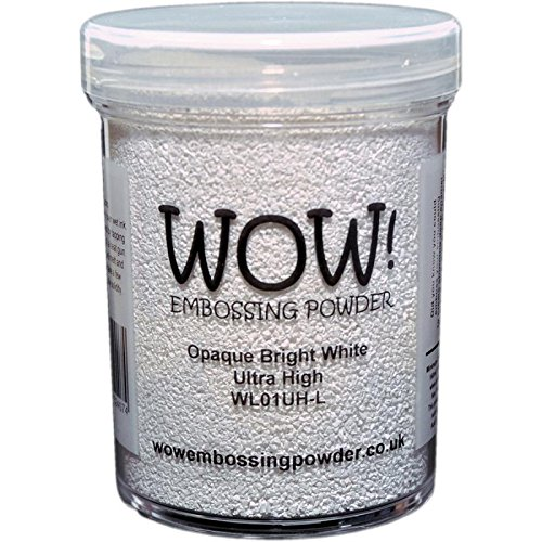 WOW! Embossing Powder 160ml-Opaque Bright White Superfine Wow Embossing Powder