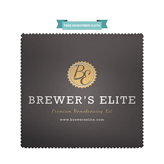 Brewer's Elite Hydrometer - for Home Brew Beer, Wine, Mead and Kombucha - Deluxe Triple Scale Set, Hardcase and Cloth - Specific Gravity ABV Tester 2 ★ Brewer's Elite Hydrometer - Premium Set - Handy Storage Case and FREE Microfiber cleaning cloth. Please note: NO TEST JAR INCLUDED. See our other Brewer's Elite combo if you require a full set. ★ Easily calculate Alcohol % (ABV) - Graduated color bands help you know when you brew is ready, and our Crystal clear fonts are so easy to read. ★ Create the perfect brew - with this durable all glass alcoholmeter make great beers, wines, ciders and Kombucha at home - The perfect tool to test when your sample liquid has finished the fermentation process.