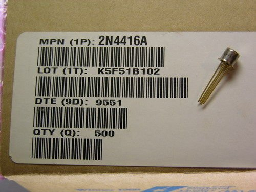 Amazon.com: 8 Motorola 2 N4416 a 35 V 5 mA N-Channel jfet RF ...