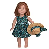 18 Inch Doll Clothes/clothing Fits American Girl – Spring Floral Dress Outfit Includes 18″ Dolls Accessories, Baby & Kids Zone