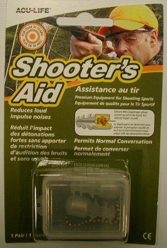 Shooters Aid Sonic Ear Plugs