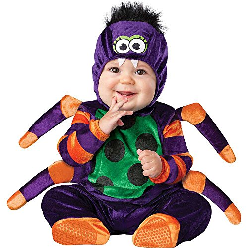 Nursery Rhyme Character Costumes For Kids (Itsy Bitsy Spider Baby Infant Costume - Infant Large)