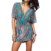 Miracle Sexy Womens Fashion Beach Wear Bikini Summer Swimsuit Cover Up Dress(FBA)