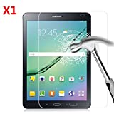 EVERMARKET Premium Tempered Glass 9H-Hardness Screen Protector Flim for Samsung Galaxy Tab S2 9.7 9.7'' - 1 Pack