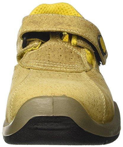 Diadora Parky Ii Low S1p, Zapatos de Trabajo Unisex Adulto Marrón (Noce)