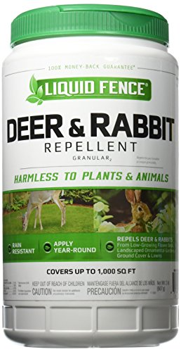 - Liquid Fence Deer & Rabbit Repellent Granular, 2-Pound