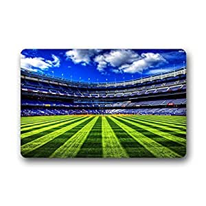 "'Estadio de Fútbol dalliy felpudos Doormat Outdoor Indoor 18 ""X30 about 46 cmx76 cm, tela, b, 18"" x 30"""
