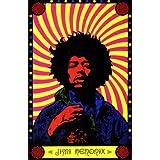 Pop Culture Graphics Jimi Hendrix (9999) - 11 x 17 Poster - Style A