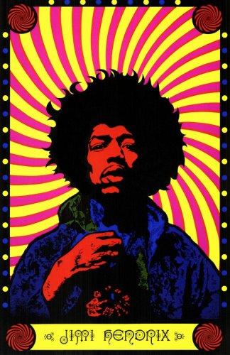 Pop Culture Graphics Jimi Hendrix 9999