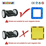 Magblock 4 Pieces Wheels Set, Compatible with Other