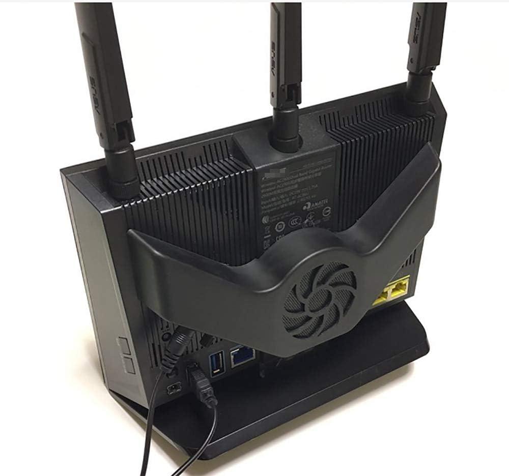 Router Cooling Fan 5V USB Speed Regulation Ultra Silent Radiator for AC68U AC86U AC1900P AC85P Dustproof Temperature Reduction