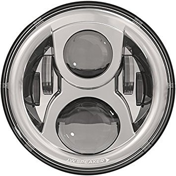 J.W. Speakers Model 8700 Evo 2, 7-inch Round LED Headlight with Dual Burn High Beam ()
