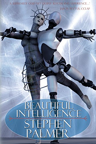 Beautiful Intelligence cover, with dancing robots