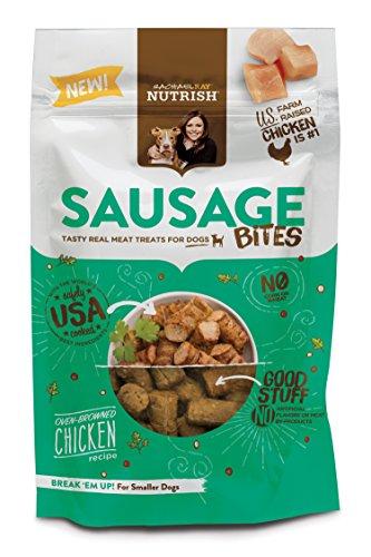 Rachael Ray Nutrish Sausage Bites Dog Treats, Oven-Browned C