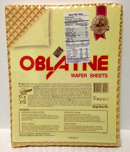 Oblatne Wafer Sheets 2 ( 150g)