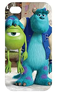 Monsters Inc University Fashion Hard back cover skin case for apple iphone 4 4s 4g 4th generation-i4mo1011