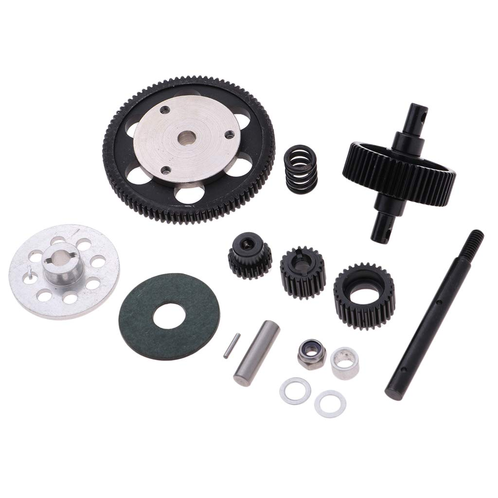 Baoblaze Steel Transmission Gear Set For All AXIAL SCX10 Gearbox 1//10 RC Crawlers