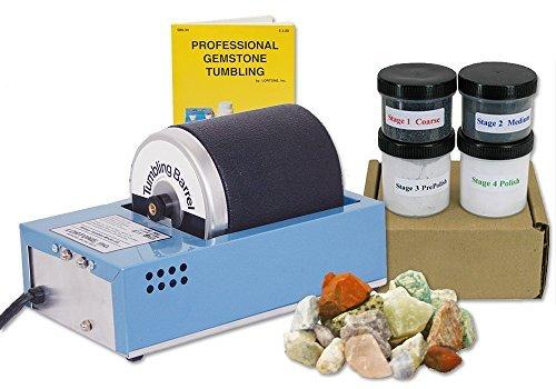 Lortone 3 Pound Rotary Rock Tumbler Kit