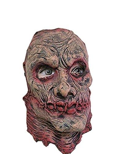 MostaShow Alien/Robot/ Evil Spirits Halloween Costume Cosplay Party Masks Latex Full Head Masks Masquerade Masks (Resident Evil Walker) ()