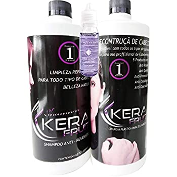 Amazon.com : KERATIN Kera Fruit Chocolate 1 Litro (Shampoo-Queratina ...