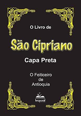 Livro de São Cipriano: Capa Preta (Portuguese Edition