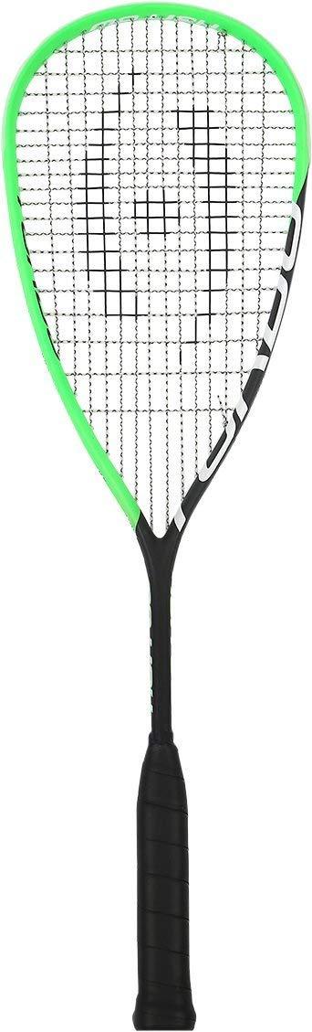 Harrow 66030219 2016 Turbo Squash Racquet, Black/Lime
