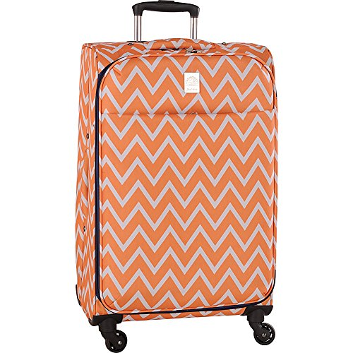 jenni-chan-aria-madison-28-inch-spinner-luggage-orange-one-size